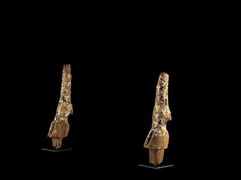 vue groupée ; trois quarts face © 2014 Musée du Louvre / Georges Poncet