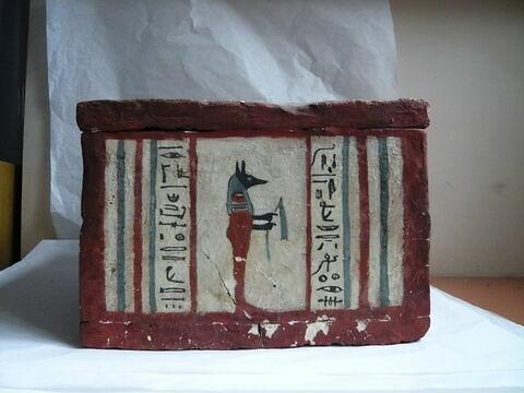 vue d'ensemble ; profil © 2010 Musée du Louvre / Antiquités égyptiennes