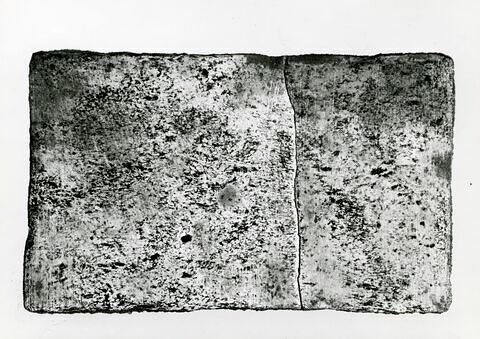 vue d'ensemble ; face A, face 1 © 1980 Musée du Louvre / Maurice et Pierre Chuzeville