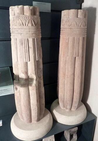 colonne papyriforme fasciculée  ; modèle