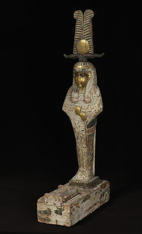 statue de Ptah-Sokar-Osiris ; élément momifié