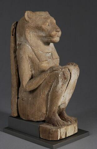 statue ; sarcophage d'animal