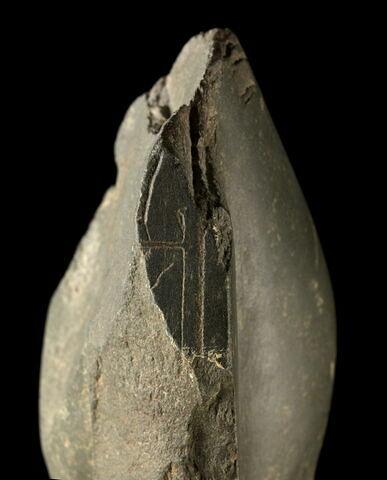 dos, verso, revers, arrière ; détail inscription © 2013 Musée du Louvre / Georges Poncet