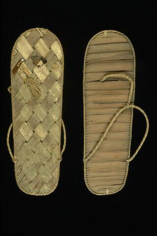 sandale à bout rond