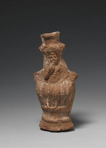 figurine ; vase plastique