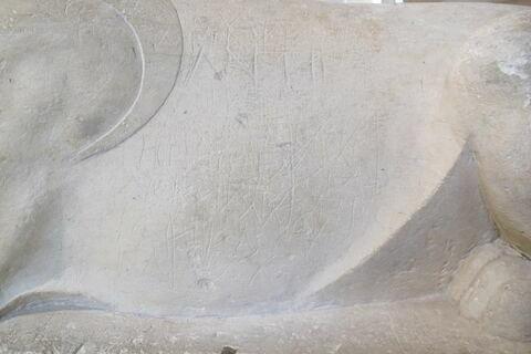 détail inscription © 2019 Musée du Louvre / Antiquités égyptiennes