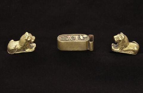 figurine ; bracelet  ; Bracelet d'Amosis