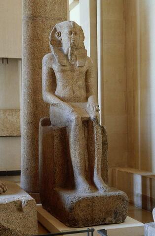 statue colossale ; Colosse de Khânéferrê Sobekhotep