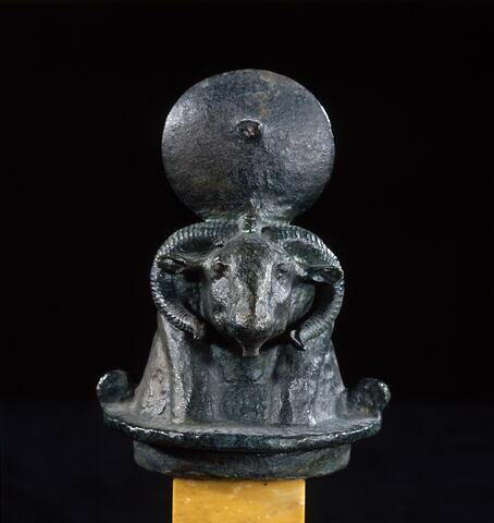 figurine ; couvercle de vase