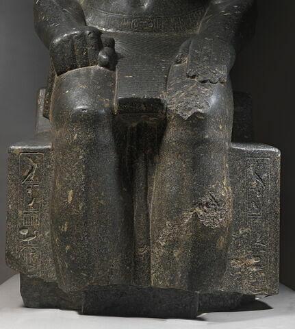 détail inscription ; face, recto, avers, avant © 2013 Musée du Louvre / Christian Décamps