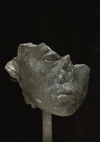 statue  ; Tête de Sésostris III
