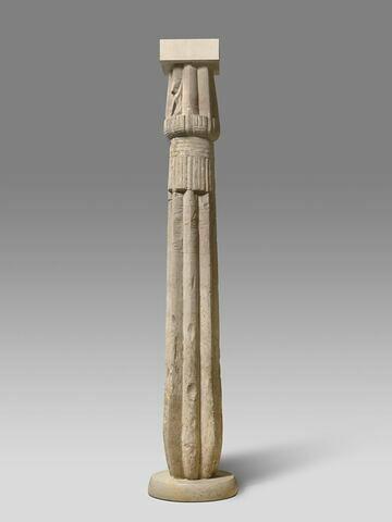 colonne papyriforme fasciculée