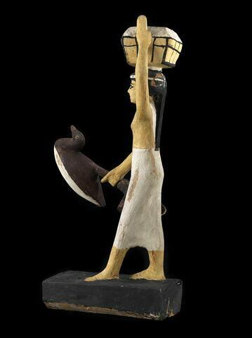 vue d'ensemble ; trois quarts dos © 2012 Musée du Louvre / Georges Poncet