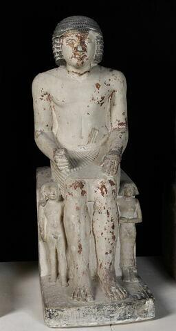 statue de groupe familial