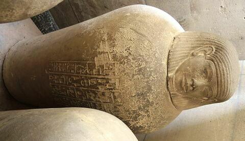 vue d'ensemble © 2014 Musée du Louvre / Antiquités égyptiennes