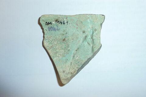 dos, verso, revers, arrière ; détail marquage / immatriculation © 2018 Musée du Louvre / Antiquités égyptiennes