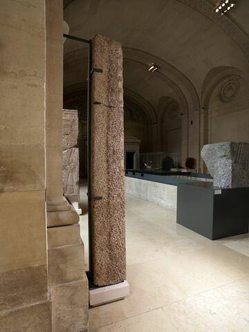 vue d'ensemble ; trois quarts dos © 2011 Musée du Louvre / Georges Poncet