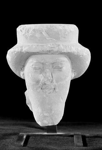 vue d'ensemble ; face, recto, avers, avant ; vue avec montage © 2001 Musée du Louvre / Georges Poncet