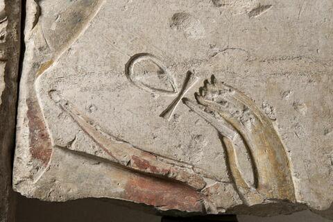 face, recto, avers, avant ; détail © 2016 Musée du Louvre / Christian Décamps