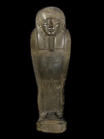 sarcophage momiforme ; Sarcophage de Dioskouridès