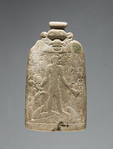 stèle d'Horus ; amulette