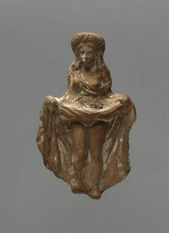 figurine d'Isis impudique