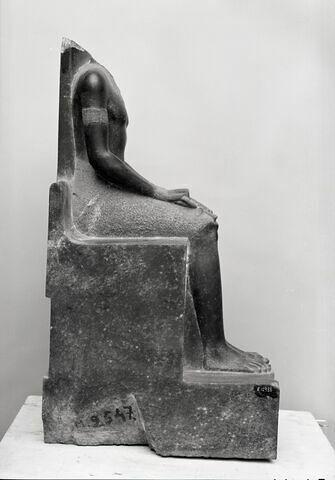 vue d'ensemble ; profil droit © Musée du Louvre / Chuzeville