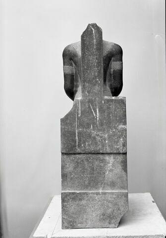 vue d'ensemble ; dos, verso, revers, arrière © Musée du Louvre / Chuzeville