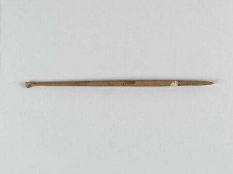 pointe de flèche au tranchant transversal simple