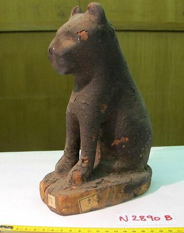 détail étiquette ; face, recto, avers, avant © 2013 Musée du Louvre / Antiquités égyptiennes