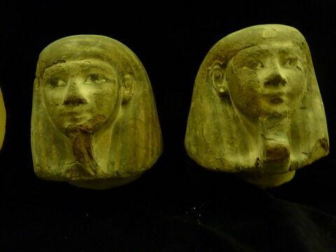 vue groupée ; face, recto, avers, avant © 2012 Musée du Louvre / Antiquités égyptiennes