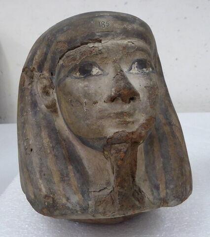 vue d'ensemble ; trois quarts face © 2012 Musée du Louvre / Antiquités égyptiennes