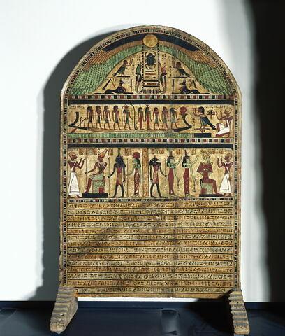 vue d'ensemble ; face, recto, avers, avant © 2002 Musée du Louvre / Georges Poncet