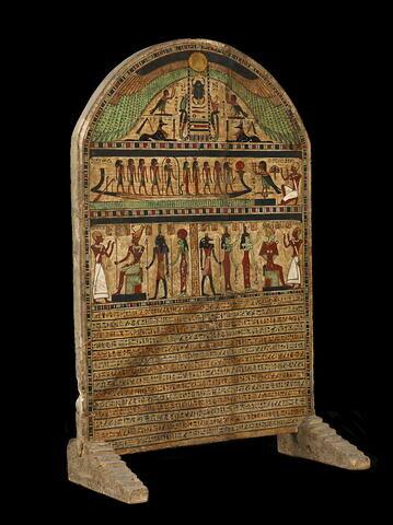 vue d'ensemble ; trois quarts droit © 2011 Musée du Louvre / Georges Poncet