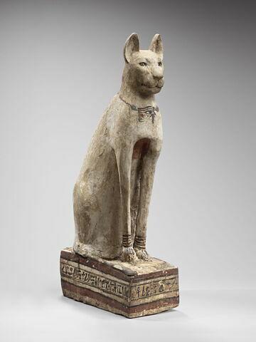 sarcophage de chat ; statue