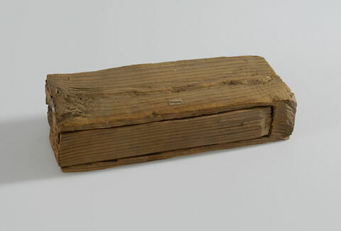 sarcophage de serpent ; couvercle