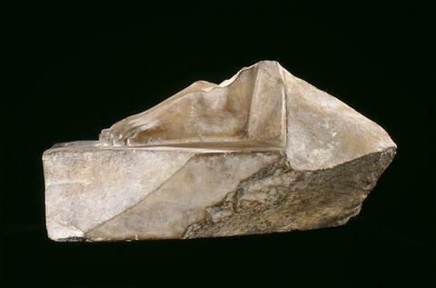 vue d'ensemble ; profil gauche © 2005 Musée du Louvre / Georges Poncet