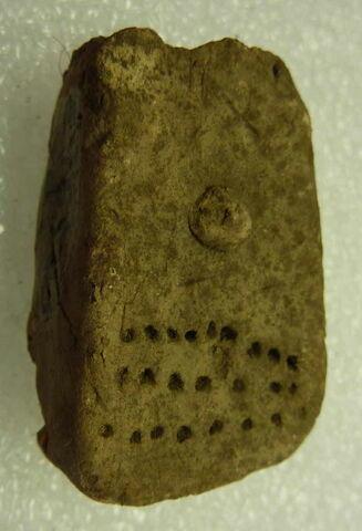 figurine féminine en plaquette