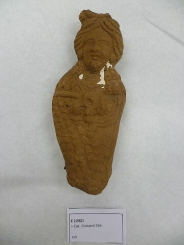 figurine d'Isis serpent