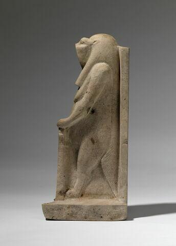 vue d'ensemble ; profil gauche © 2012 Musée du Louvre / Christian Décamps