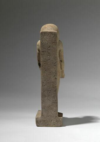 vue d'ensemble ; dos, verso, revers, arrière © 2012 Musée du Louvre / Christian Décamps