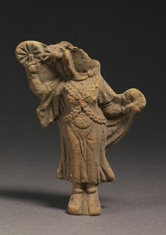 figurine d'Isis à l'éventail