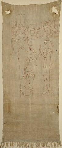 linceul peint ; Linceul de Djedmout