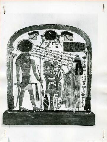 vue d'ensemble ; face, recto, avers, avant © Musée du Louvre / Alexandre Séarl