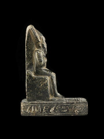 figurine ; figurine d'Osiris à l'obélisque