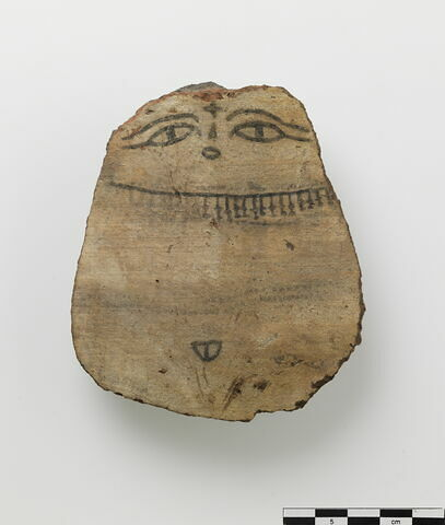 figurine ; ostracon figuré