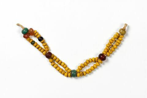 collier ; perle globulaire