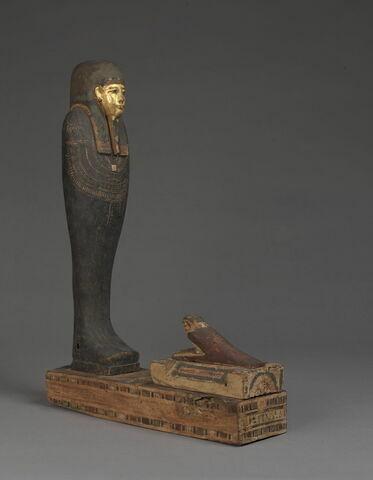 figurine d'oiseau akhem ; statue de Ptah-Sokar-Osiris