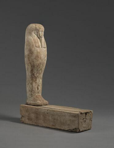 statue de Ptah-Sokar-Osiris ; sarcophage miniature ; élément momifié