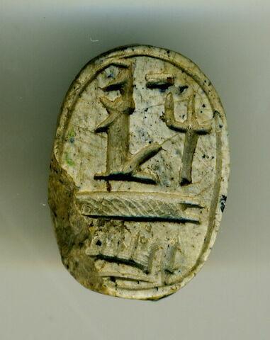 vue d'ensemble ; vue de dessous © 2018 Musée du Louvre / Antiquités égyptiennes
